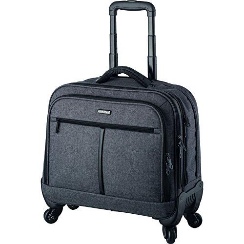 Lightpak Laptop-Trolley Phoenix Rollkoffer, 44 cm, 15 L, Grau