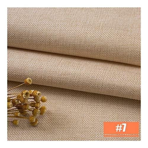 Zachte plain linnen stof remmende bekleding stof inrichtingsmateriaal voor sofa stoelen tafels schrijftafel designer belangrijke bescherming slijtvast materiaal stofdicht gemakkelijk te reinigen