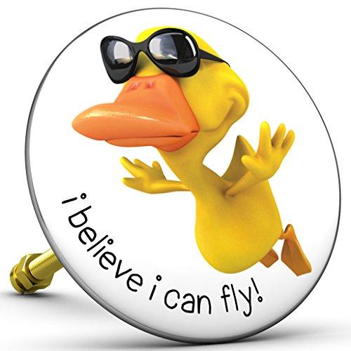 Bath Plopp I believe I can fly, Badewannenstöpsel, Stöpsel für Badewanne Abfluss, Stopfen, 4568