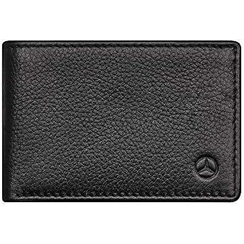 Original Mercedes-Benz AMG Minigeldbörse Geldbeutel schwarz Carbon Leder