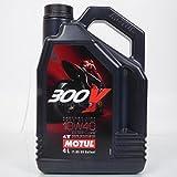 Huile 10W40 Motul 100% synthétique 300V Factory Line moteur 4 Temps en 4L Neuf