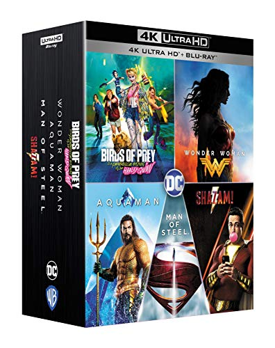 Coffret dcu 5 films 4k ultra hd