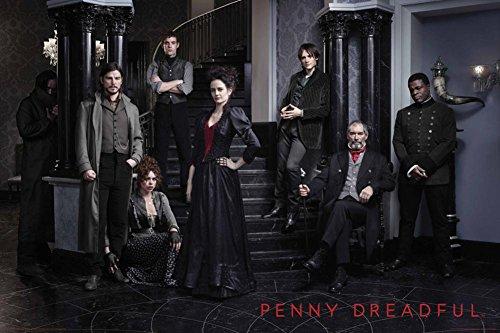 Penny Dreadful - Cast Poster Drucken (60,96 x 91,44 cm)