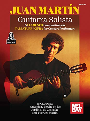 Guitarra Solista: 8 Flamenco Compositions in Tablature/Cifra for Concert Performers
