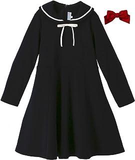 Catherine Cottage 卒服 卒業式 2つのリボン付き セーラーポンチジュニアワンピース CC0580T 子供服