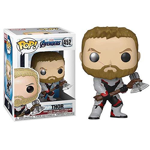 No Funko Pop Avengers 4 Traje cuántico Thor Thor Oficina de Thor Modelo de Aberdeen
