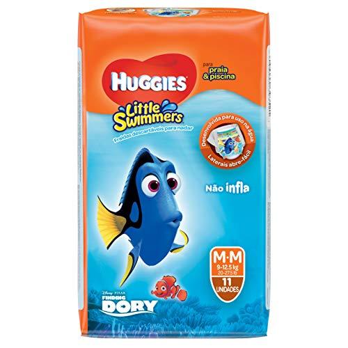 Huggies Fralda Little Swimmers M, 11 Fraldas
