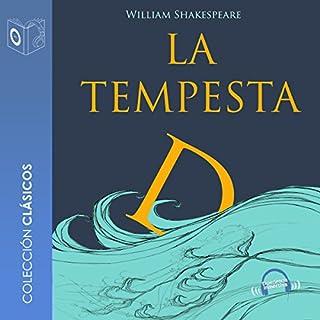 La tempestad [The Tempest] audiobook cover art