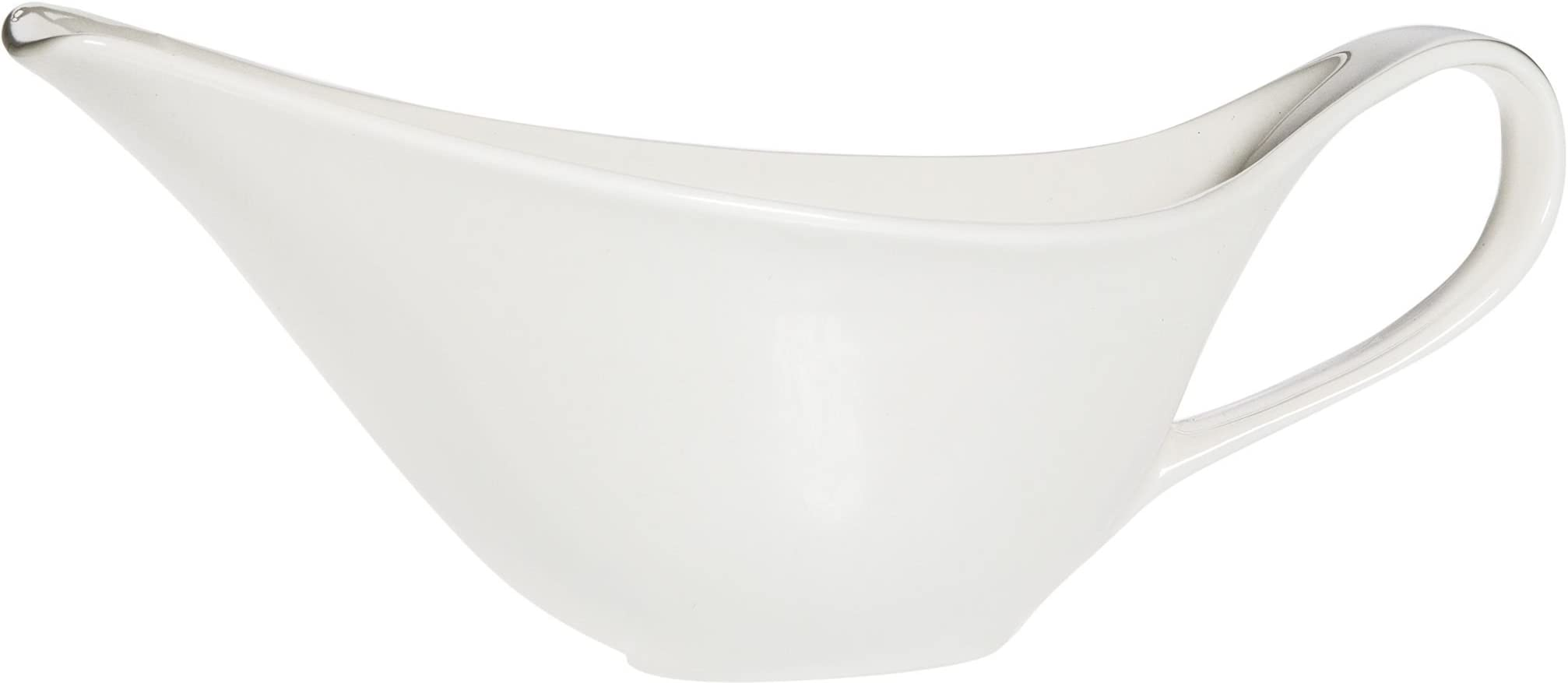 "Home Essentials 9""L Maison Gravy Boat With Handle"
