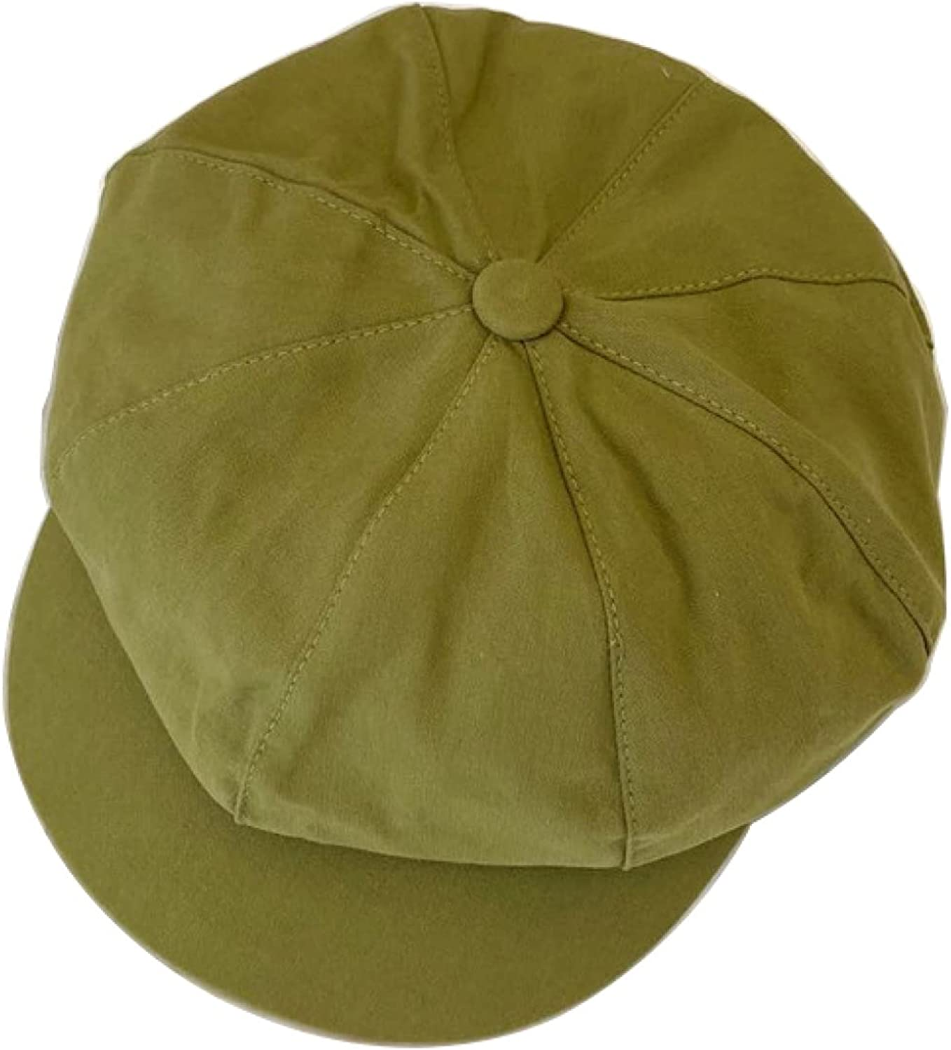 Women's Mariner Style Berets Solid Color Newsboy Cap with Comfort Elastic Back Baker Boy Cabbie Hat Painter