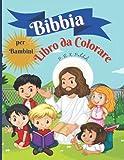 Bibbia libro da colorare per bambini: Incredibile libro da colorare per bambini 50 pagine piene di storie bibliche e versi delle Scritture per bambini di 9-13 anni, brossura 8.5*11 pollici