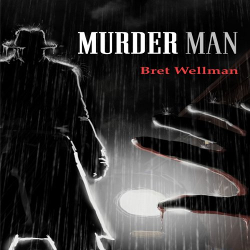 Murder Man audiobook cover art