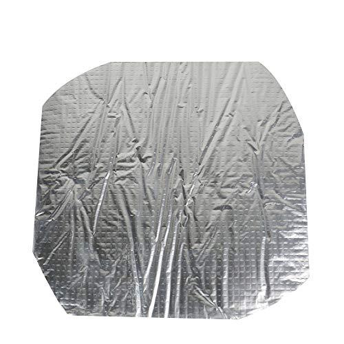 ILS - 250 * 250 * 4 mm folie zelfklevende warmte-isolatie katoen voor 3D-printer verwarmbaar bed