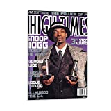 xiaoxiami Snoop Dogg High Times Poster, dekoratives