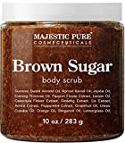 Brown Sugar Body Scrub for Cellulite and Exfoliation - Natural Body Scrub - Reduces The Appearances of Cellulite, Stretch Marks, Acne, and Varicose Veins, 10 Ounces review