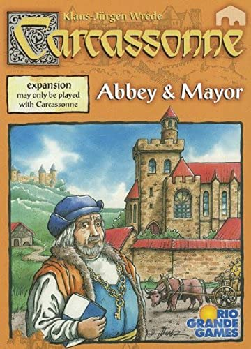 voitureCASSONNE - ABBEY & MAYOR - GAME EXTENSION (VERSION ANGLAISE)