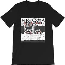 Alice-Cooper Tour ol' Black Eyes is Back Poison-School's-Out Music Funny Gift for Men Women Girls Unisex T-Shirt
