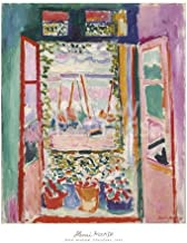 Henri Matisse The Open Window, Collioure, 1905 Art Print Poster, Overall Size: 20x24, Image Size: 16.75x20