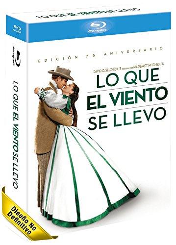 Lo Que El Viento Se Llevo Edición 75 Aniversario Blu-Ray [Blu-ray]