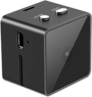 超小型隠しミニカメラ Gumgood 1080P高画質 動体検知 電池式 小型 監視カメラ 長時間録画 屋内家庭用 携帯便利 日本語取扱付き
