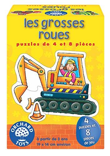 Orchard Toys–Puzzles Grandes Ruedas, 159
