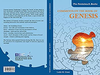 Paperback COMMENTS ON THE BOOK OF GENESIS Book
