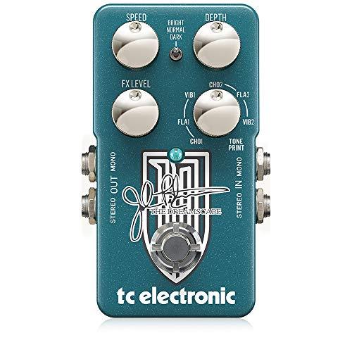 TC Electronic The Dreamscape Modulation Pedal, MultiColored