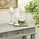 Deco 79 Candle Holder, White
