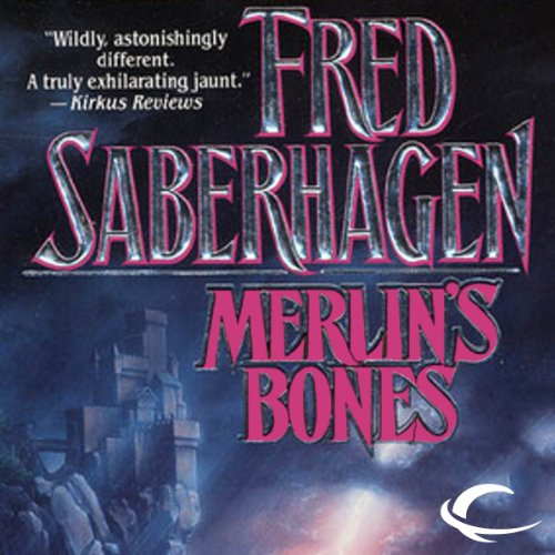 Merlin's Bones audiobook cover art