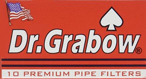 Dr. Grabow 10 Premium Pipe Filters - 3 Pack