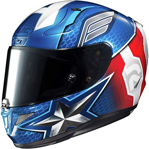 HJC Helmets RPHA 11 Pro Helmet - Captain America (Large) (RED/White/Blue)