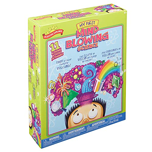 Product Image of the Scientific Explorer My First Mind Blowing Science Experiment Kit, 11 Mind...