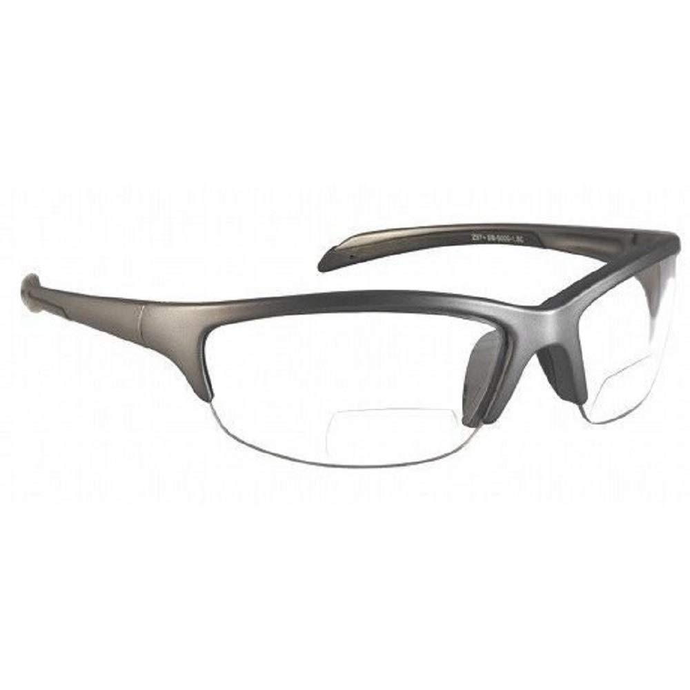 Gafas de seguridad bifocales SB-5000 en aumento de +1,0 - +3,0 (1,5, transparente)