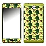 Disagu SF-107288_1120 Design Folie für Wiko Ufeel Lite - Motiv Avocados Lined orange
