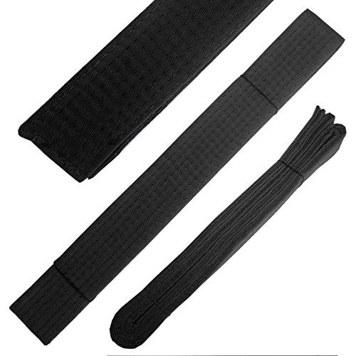 Cinturon Negro Karate  marca Ace Martial Arts Supply