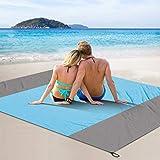 FYLINA Sandfree Beach Blanket Lightweight - Oversized Waterproof...