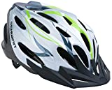 Schwinn Traveler Bike Helmet, Adult, White/Green