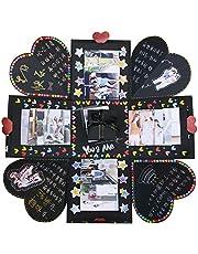 Vesunn Explosiebox, creatieve verrassing fotoalbum box, gepersonaliseerd geschenk vriend