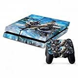 MODFREAKZ™ Console and Controller Vinyl Skin Set - Motorcycle Snowmobile for Playstation 4