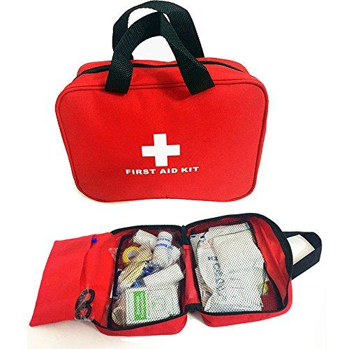 OnePine Tragbare Erste-Hilfe-Tasche Mini Erste Hilfe Kit,100 Stück Survival Emergency Erste Hilfe Sets für Auto, Haus, Picknick, Camping, Reisen und Andere Outdoor-Aktivitäten