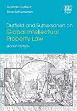 Livres Dutfield and Suthersanen on Global Intellectual Property Law PDF