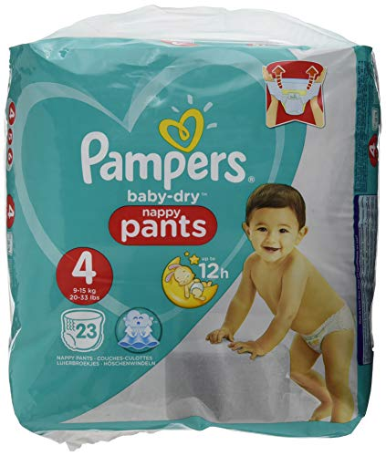 Pampers Easy Up – 22 Stück – Baby Windeln T4 8-15 kg