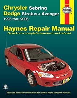 Chrysler Sebring, Dodge Stratus & Avenger 1995 thru 2006 (Haynes Repair Manual) Revised edition by Freund, Ken (2012) Paperback