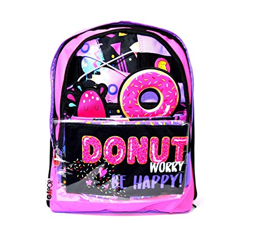 Giochi Preziosi Gopop 19 Zaino Estensible Donut Sacca, 43 cm, Multicolore