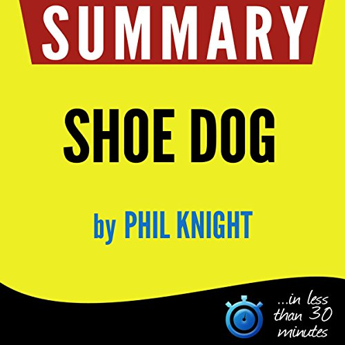 Summary: Shoe Dog cover art