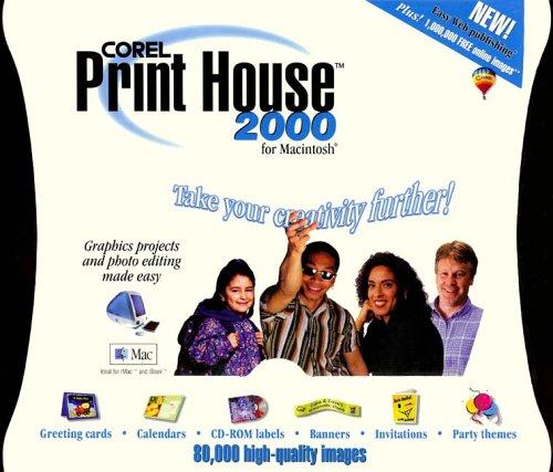 Corel Print House 2000 - Mac Edition