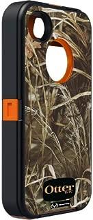 OtterBox Defender Series f/iPhone 4/4S - Blaze Orange/Max4HD Camo