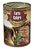 Farm Nature Jabalí con Calabacín, Tomate y Eneldo Comida Húmedos para Perros 400 G 400 g