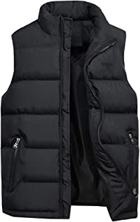 Men's Sleeveless Quilted Gilet Jacket Body Warmer Waistcoat