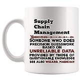 N\A Regalo Divertido de la Taza de la gestión de la Cadena de Suministro - Taza de café - Los Mejores Regalos para Las Tazas de Las Tazas de la Camiseta de Las Mujeres de los Hombres